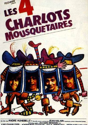 The Four Charlots Musketeers's Poster