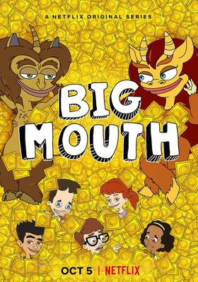 Big Mouth Season 2's Poster