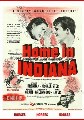 홈 인 인디아나의 포스터