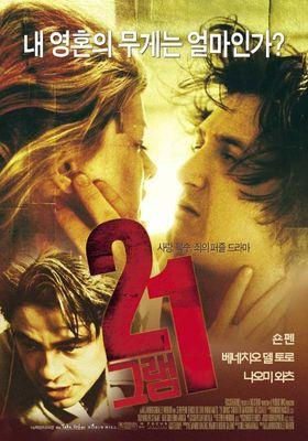 『21グラム』のポスター