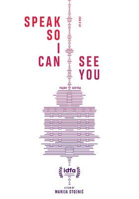 들려줘, 너를 볼 수 있게: 벨그라드 라디오 이야기의 포스터