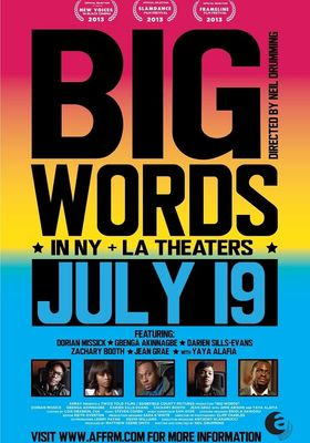 Big Words's Poster