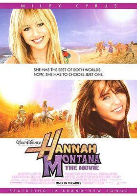 『ハンナ・モンタナ ザ・ムービー』のポスター