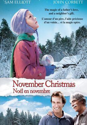 November Christmas's Poster