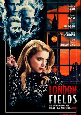 런던 필드의 포스터