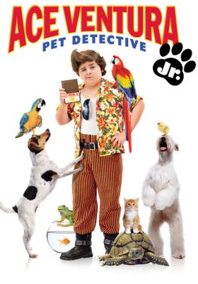 『Ace Ventura: Pet Detective Jr.(原題)』のポスター