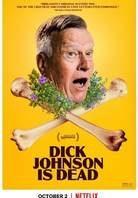 딕 존슨이 죽었습니다의 포스터