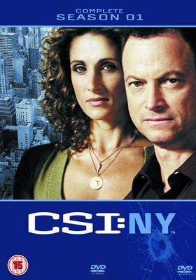 CSI: NY Season 1's Poster