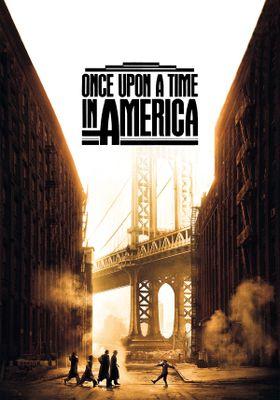 『ワンス・アポン・ア・タイム・イン・アメリカ』のポスター