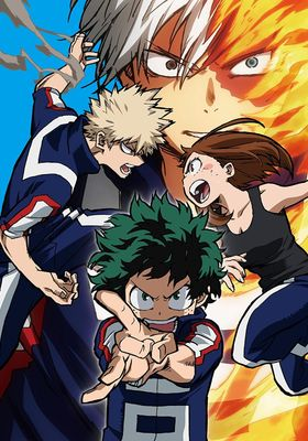 『僕のヒーローアカデミア 2nd』のポスター