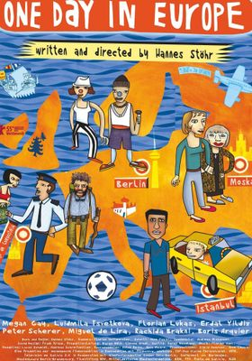 『ワン・デイ・イン・ヨーロッパ』のポスター