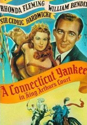 아더 왕궁의 코네티컷 양키의 포스터