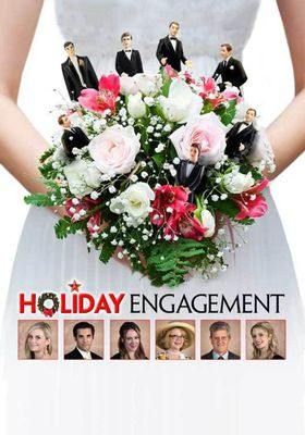 A Holiday Engagement's Poster