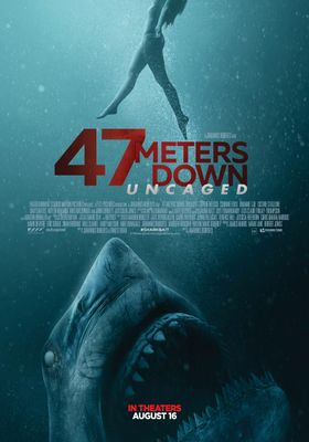 47 Meters Down: Uncaged's Poster
