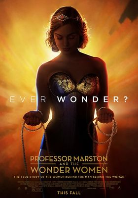 『ワンダー・ウーマンとマーストン教授の秘密』のポスター