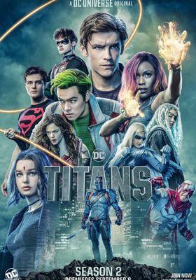 Titans Season 2's Poster
