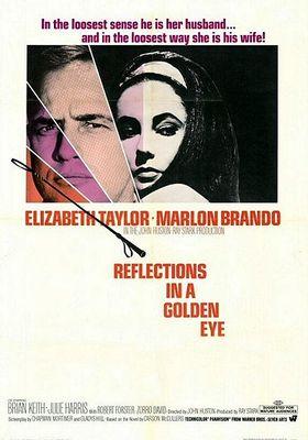황금 눈에 비친 모습의 포스터