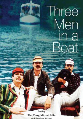 배 위의 세 사람의 포스터