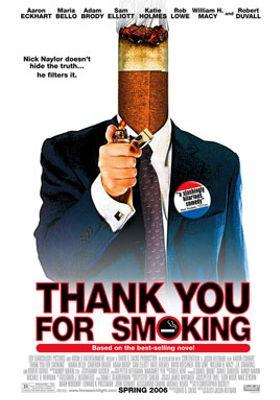 Thank You for Smoking's Poster