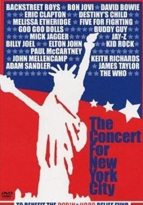 더 콘서트 포 뉴욕 시티의 포스터