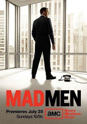 『マッドメン シーズン4』のポスター
