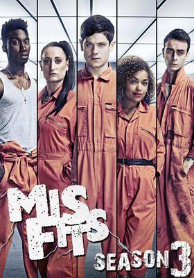 『Misfits/ミスフィッツ -俺たちエスパー! シーズン3』のポスター