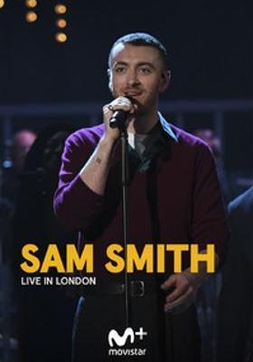 『サム・スミス:ライブ・イン・ロンドン』のポスター