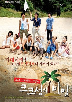 『クク島の秘密』のポスター