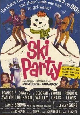 스키 파티의 포스터