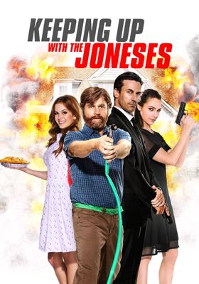 Keeping Up with the Joneses's Poster