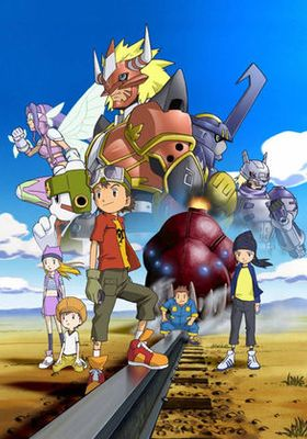 Digimon Frontier's Poster